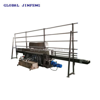JFE9243 Glass straight line edging machine, glass edge polisher, edger for glass