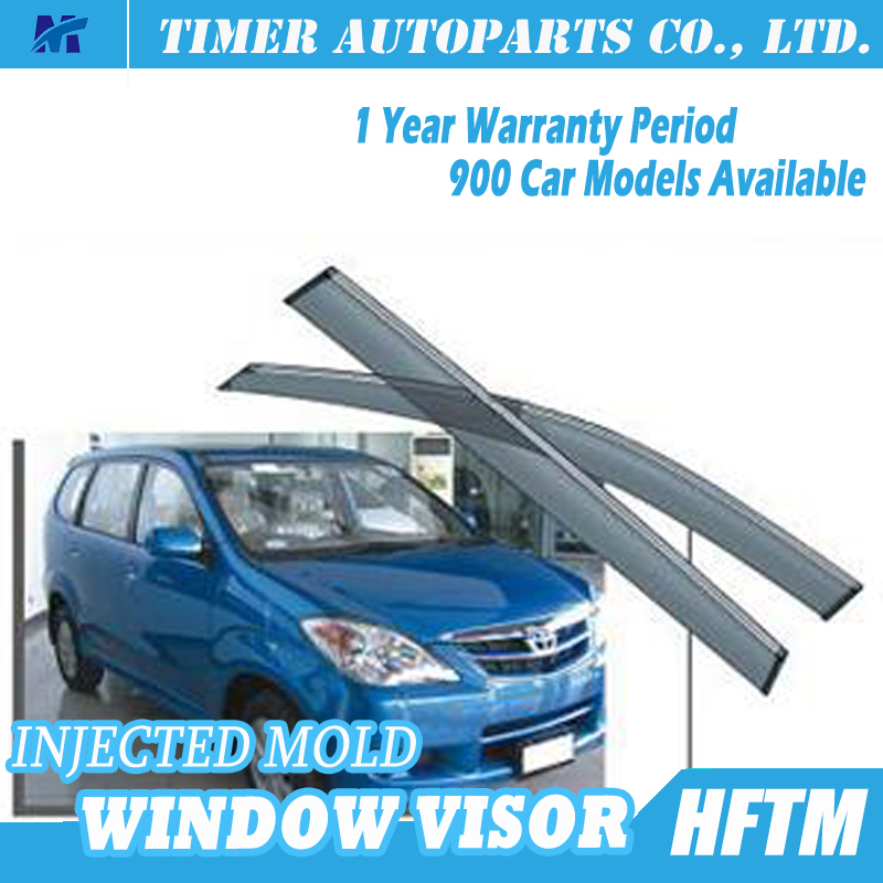 Injected mould toyota auto window visor windshield visors for cars 2005-2011 AVANZA XENIA