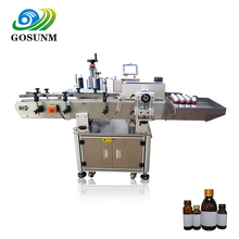 Gosunm Ce Approved Automatic Labeling Machine for Bottles in Guangdong