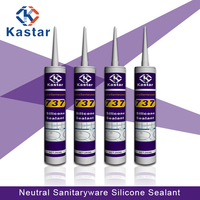 Trade Assurance neutral anti mildew silicone sealant