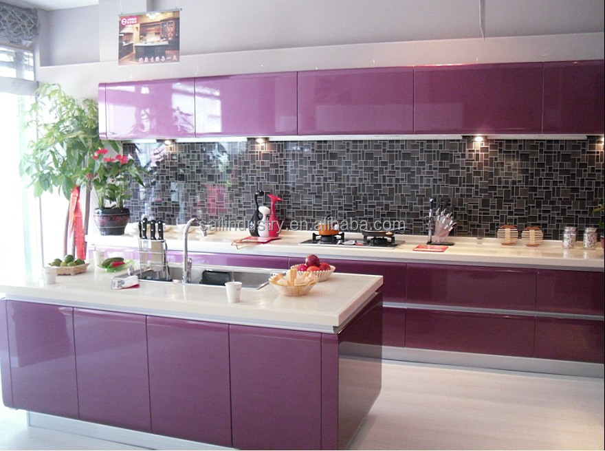 Cheap chinese prefab kitchen cabinet kitchen cabinet for Cheap kitchen carcass