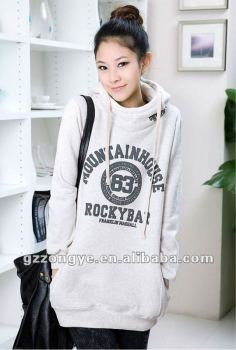 2012 fashion women printed pullover hoodies sweater