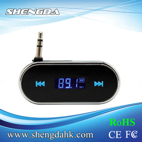 Digital HIFI Wireless 3.5mm Jack Full Frequency Chargeable Car Fm Transmitter,Transmitter Fm