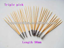 three pick stick skewer