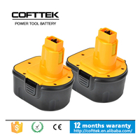For dewalt 12V Power tool battery pack dewalt 12v ni-cd 1500mah battery DEWALT DE9074, DC9071, DW9072, DE9075, DE9501, DW9071
