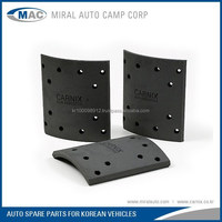 All Kinds of Brake Lining for Korean Vehicles