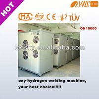 OH10000 IGBT AC brown gas welding machine for copper tube welding