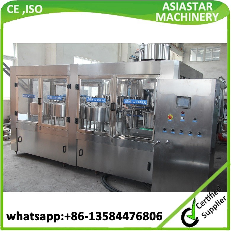 Top quality popular mineral water bottle filling packaging machine