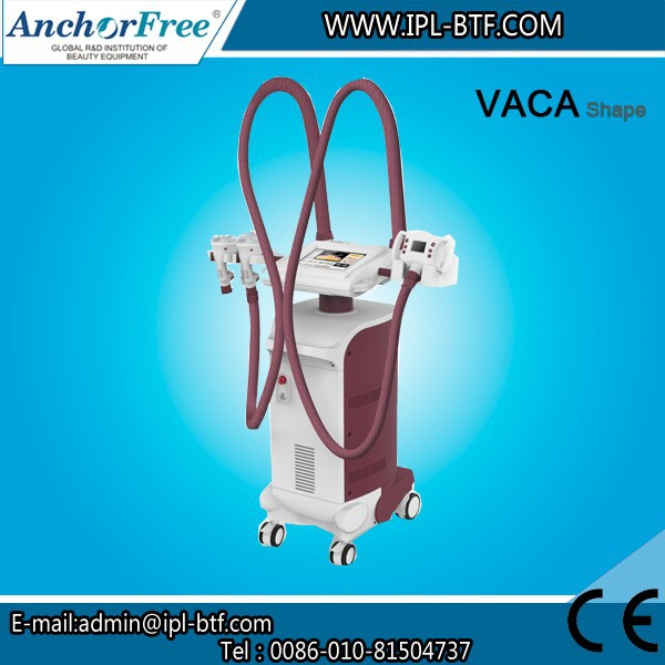 Lymphatic Drainage / Physiotherapy Vacuum Slimming Machine (VACA Shape)