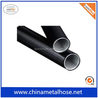 PVC coated stainless steel flexible electrical metal conduit