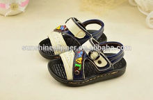 2016 new design boy sandals in summer genuine leather1-3years old baby casual shoes