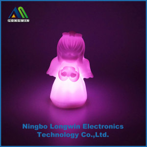 battery operated Angel night light for Christmas gift