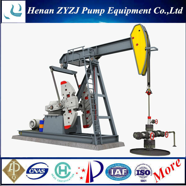 Long Stroke Oil Extractor Equipment API Standard Pumping Unit Horse Pumps