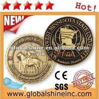 high quality shield-designed souvenir coin with good price