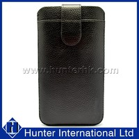 Genuine Leather Pull Up Pouch For Samsung Note2
