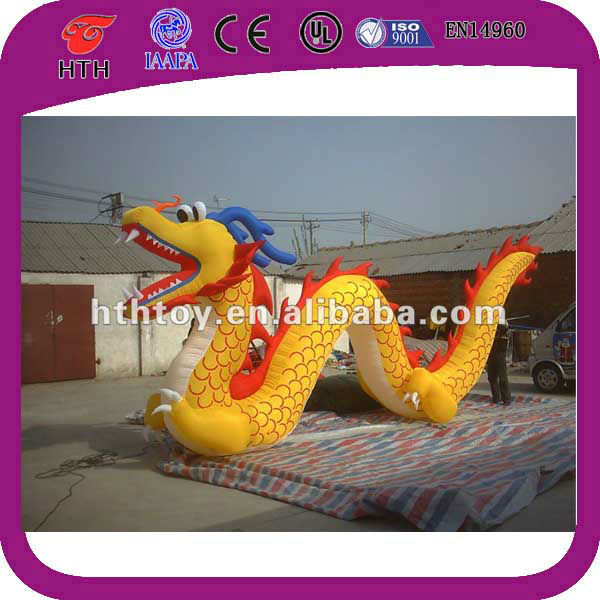 Outdoor inflatable advertising Chinese dragon for Festival Ceremony
