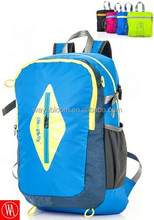 ripstop polyester folding backpack for travelling