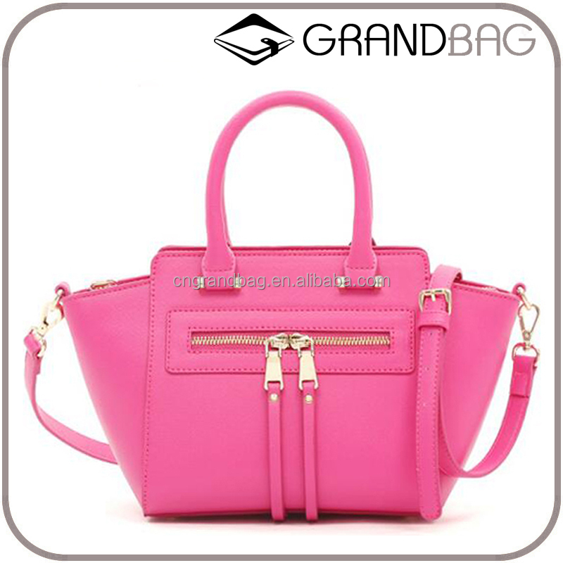 New fashion saffiano leather street style handbag women vanity bag hand bags for office lady