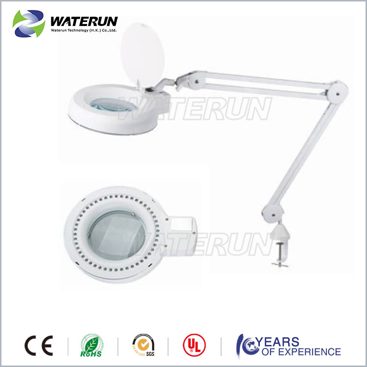 809L electric square magnifying glass led light
