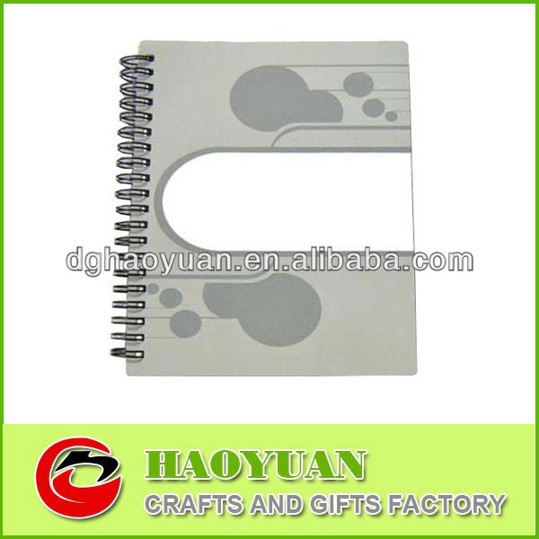Cheap Eco-friendly Sprial Notebook with Print-HYXQ020