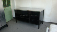 metal top kitchen room furniture wooden storage drawers cabinet