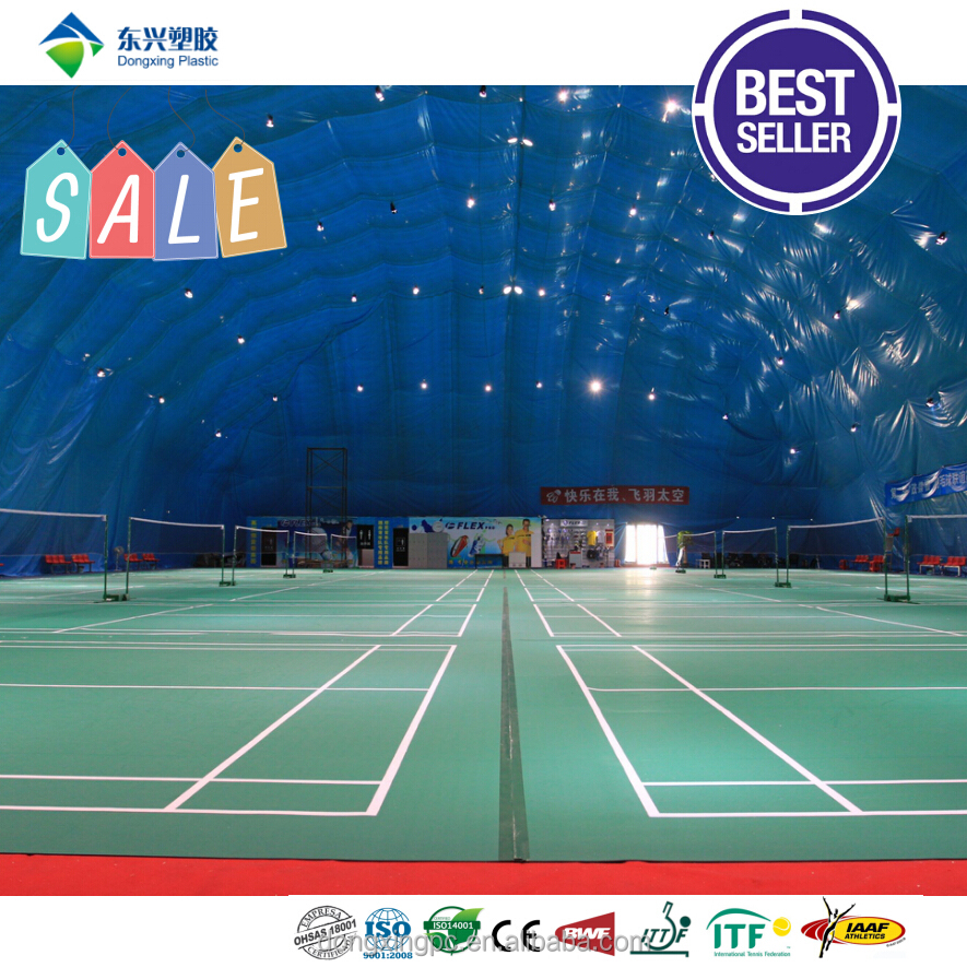 BWF Litch and Sand Badminton Court Mat Roll Flooring
