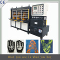 PLC control system automatic shoe cover machine,sport vamp making machine,lady shoes cover machine