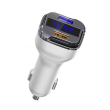 Portable car battery charger 2 in 1 quick charge 3.0 car charger
