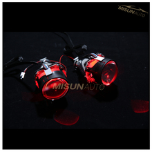 Wireless Control 2.5inch 3.0inch RGB LED Demon Eye For HID Xenon Projector Lights Lens