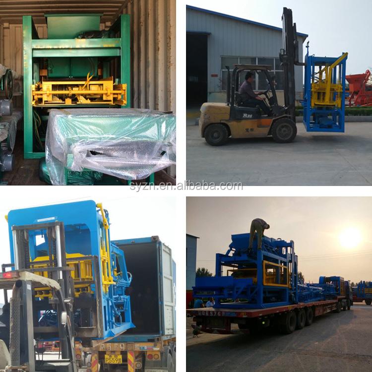 QT4-20 pas cher bloc de béton faisant la machine pour vente/creux bloc machine prix