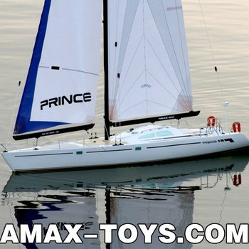 es-1180810 r/c sailing boat Prince Wind Power Racing Boat