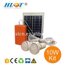 Economic and Reliable mini off grid solar power system for small homes