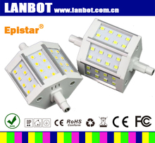 new style 78mm r7s cob leuchtmittel made in China and Dimmable 180 degree R7S LED Manufacturer, 118MM 30W 5730SMD Led R7S