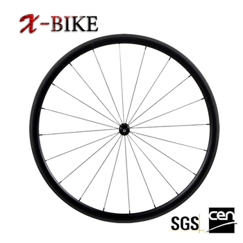 2017 XBIKE super lightweight 700c 32mm high stiffness bicycle china carbon disc wheels