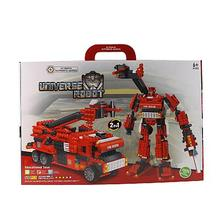 2014 new kid toy building blocks robot toy building block series robot