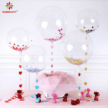 Wholesale Latex Confetti Balloon for Decorative Birthday Party Balloon Decorations
