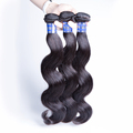 Free shipping 3pcs/lot 12 inches grade 7A body wave Peruvian hair