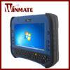 Winmate 7 inch 4G LTE mobility with integrated full QWERTY keyboard and RFID 1D/2D barcode scanner Lightweight Rugged Tablet PC