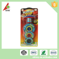 China manufacturer cheap small plastic colorful toy top spin