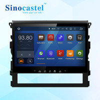 "10.1"" Capacitive Touch screen head unit android car dvd player for land cruiser 2016"