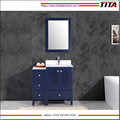 Frost Tempered glass top bathroom vanity T9315-36B