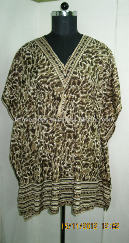 Animal Printed kaftan