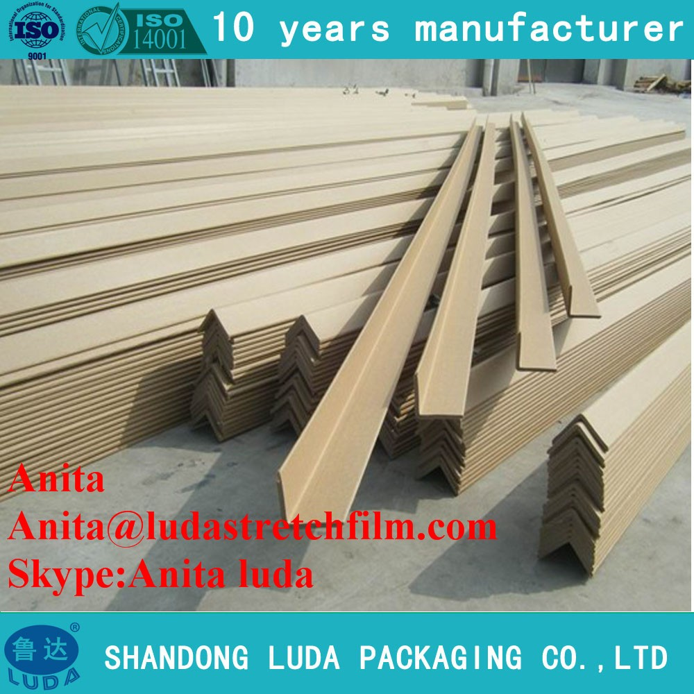 Shandong Furniture Required L-shaped Packing Carton Corner