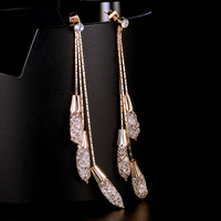 Wholesale Drop Artificial Jewellery Gold Earring