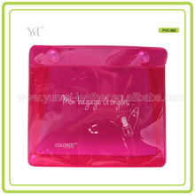 Plastic PVC Makeup Cosmetic Bag Toilet Bag From Chinese Factory