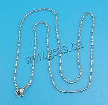 2015 wholesale ball chain fastener necklace