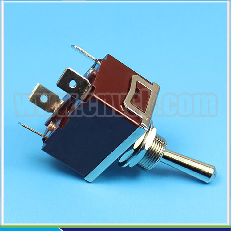 TS35 locking or momentary ON toggle switch solder terminal DPDT toggle switch