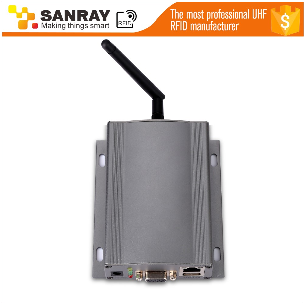 2.4Ghz Active RFID Reader prisoner worker patient tracking RTLS system