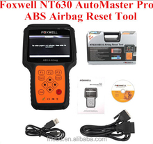 Hot Sale Foxwell NT630 AutoMaster Pro ABS Airbag Reset Tool Professional ABS and Airbag Faults Reader for Renault trucks