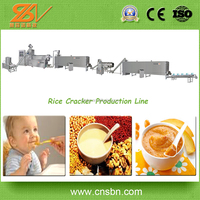 Stainless Steel Food Grade Nutritional Rice Powder/Chinese Modified Starch Product Line